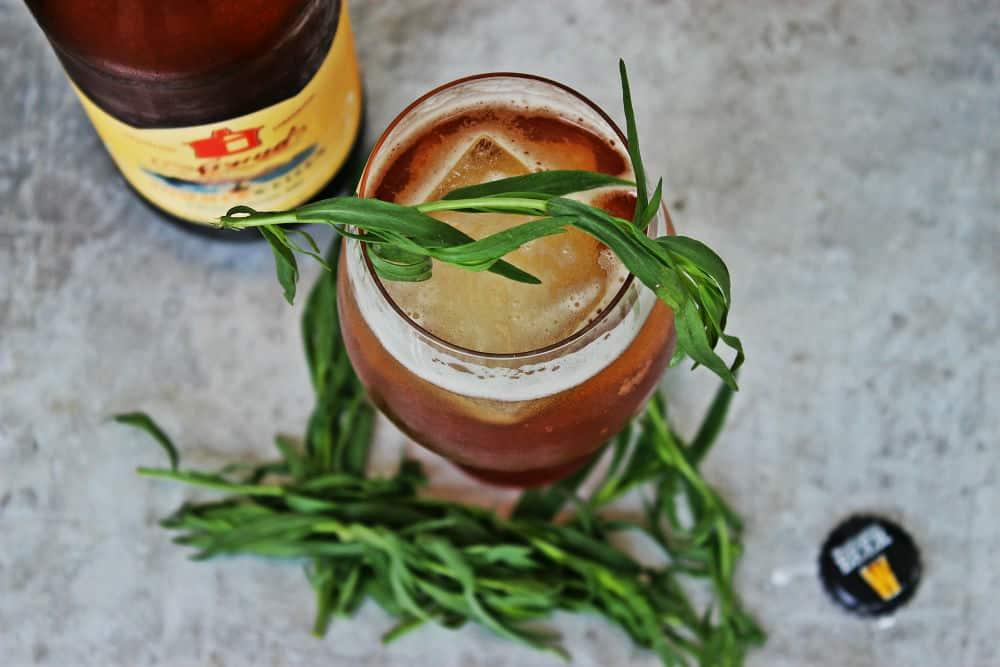 , Bourbon Beer Refresher