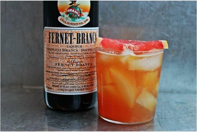 , Grapefruit Fernet Cooler