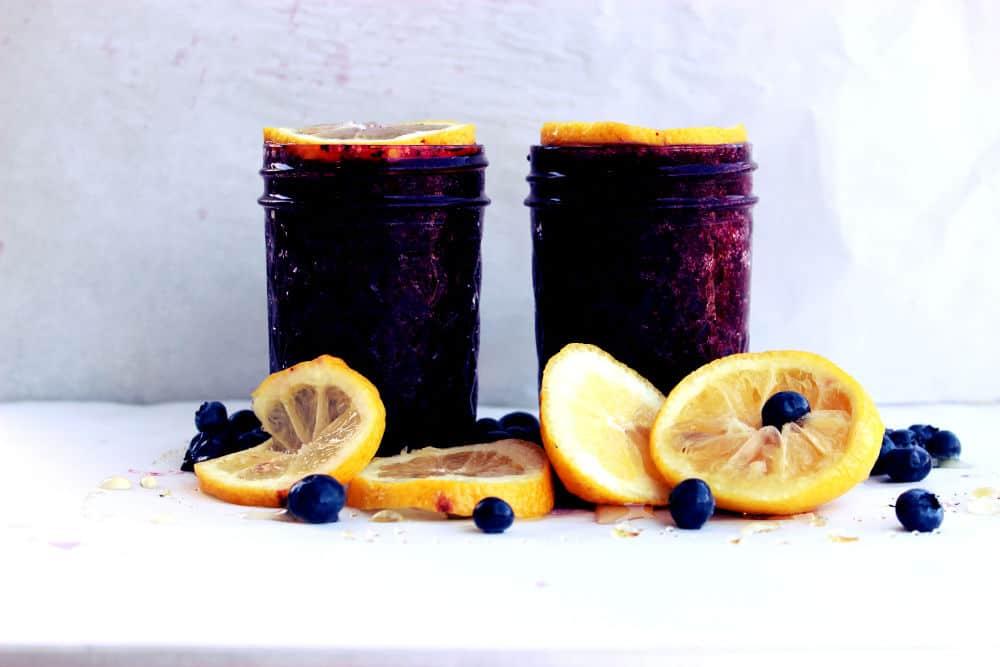 , Blueberry Lemon Margarita
