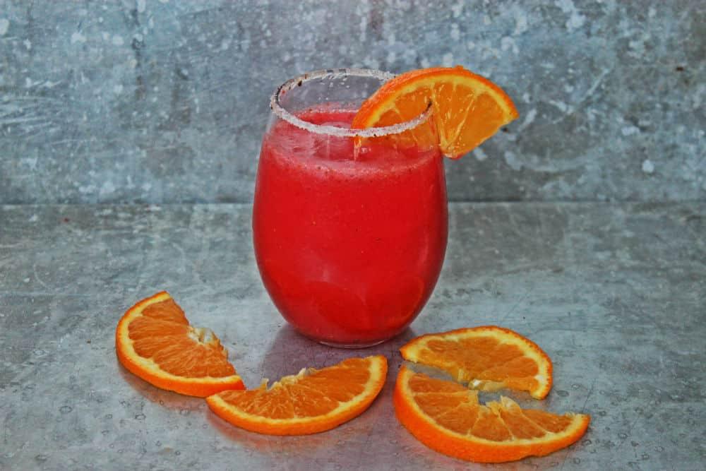 , Orange, Berry and Jam Margarita