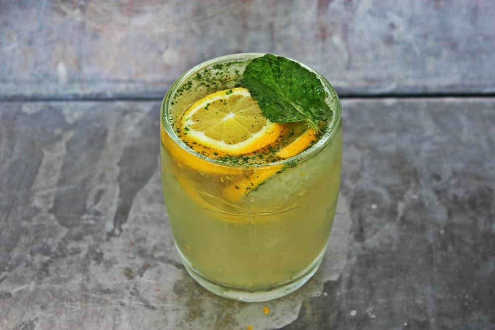 , Seattle Cider Company Minty Lemon Slushy
